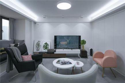 福州126㎡现代北欧风三居室,宽阔大气,优雅舒适