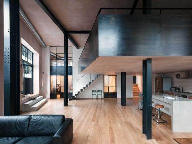 杭州创一居钱塘.梧桐蓝山后现代二居室装修效果图