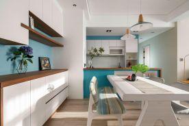 广州北欧风格三居室装修,宅在家里不想出门!