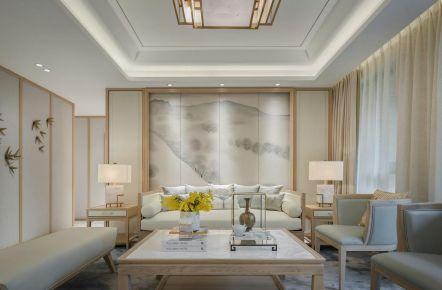 广州素雅新中式三居室装修,细节之处显优雅!