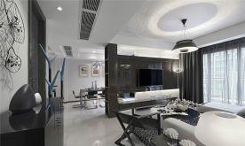 杭州创一居装饰星乐小区后现代风二居室装修效果图