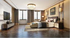 南京酒店新中式装修,低沉奢华的修身养性