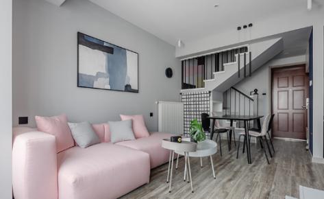 重庆维享家90平三居室loft简约风格装修效果图