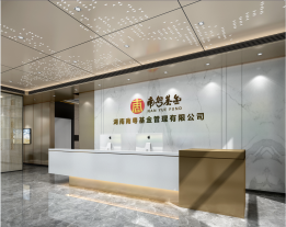 湖南南粤基金梅溪湖办公室装修项目