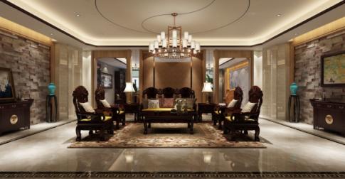南京新中式风格酒店装修案例,庄重典雅充满舒适感