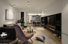 福州简约风三居室装修设计,让家更有质感