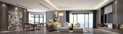 广州五房两厅现代简约装修效果图