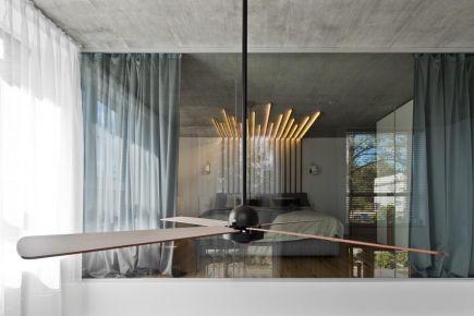 杭州创一居装饰康庭和苑现代风格复式装修效果图