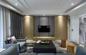 福州后现代风三居室装修,个性时尚,轻奢高档!