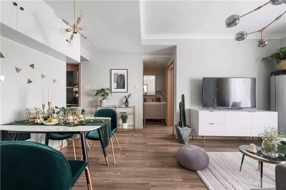 海口二居室温暖高级的北欧风装修,充满生活仪式感!