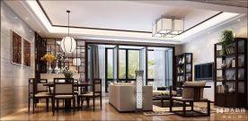宁波荣安心居中式四居室装修,随时光流淌安静于窗前一隅