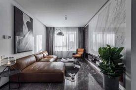 贵阳现代简约风三居装修,高级灰,也是一种生活格调!