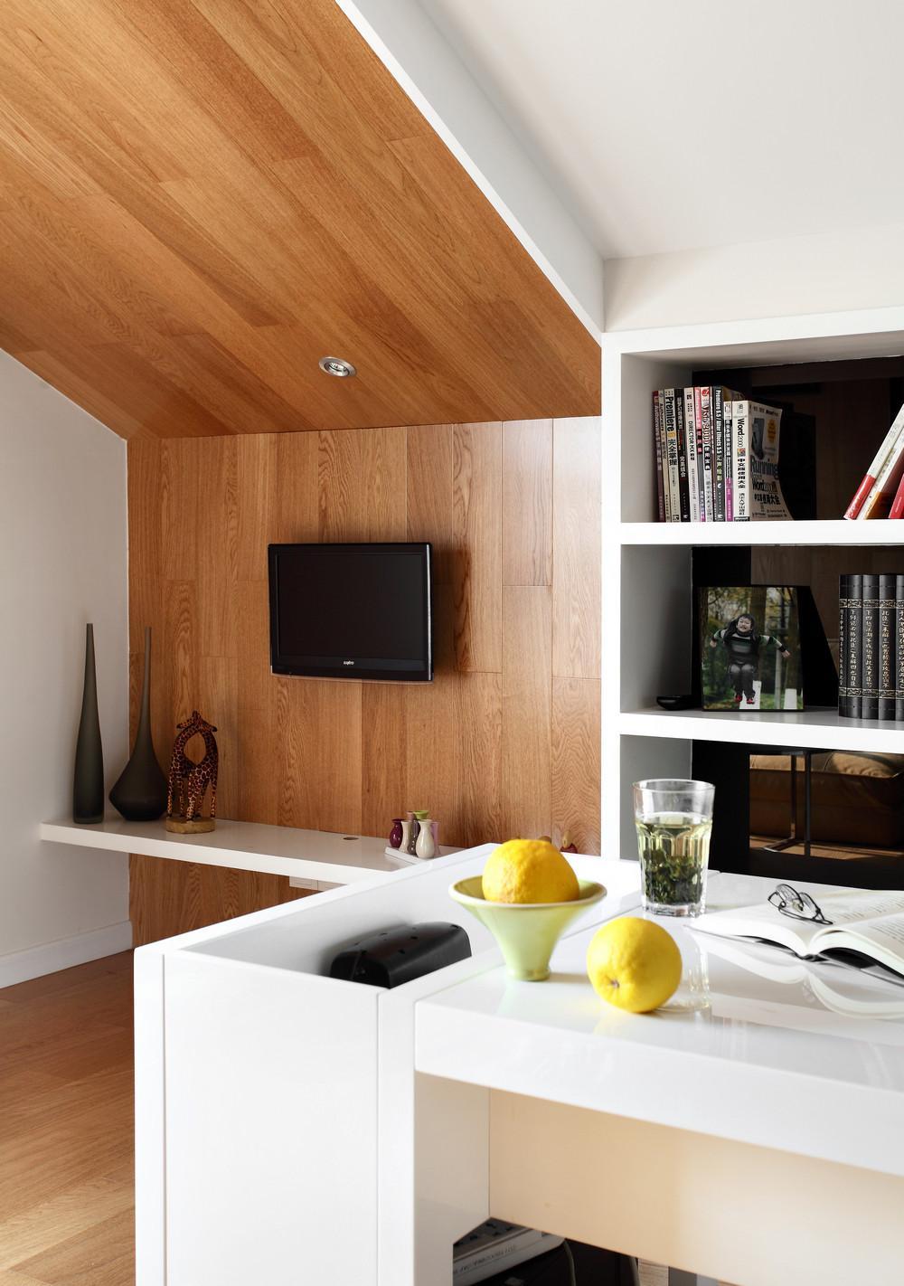 福州简约复式三居室装修效果图