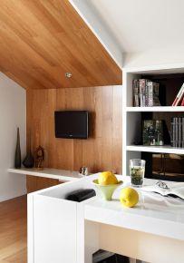 福州簡約復式三居室裝修效果圖