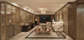 广州新中式四居装修效果图,时尚大气,简约即高端!