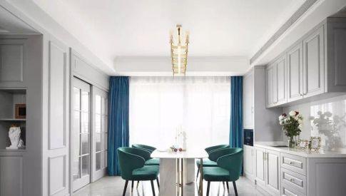 成都轻奢美式3室2厅装修,让生活如诗般浪漫有情调