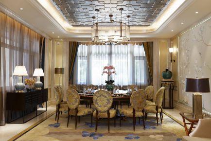 重庆维享家安娜西湖奢华风格四居装修效果图