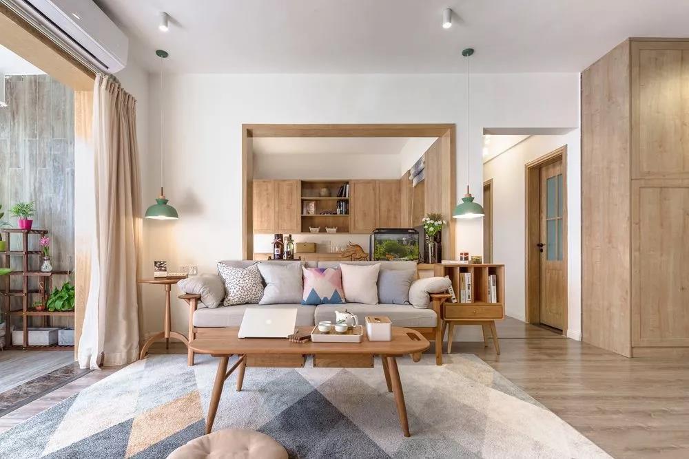 苏州日式风格三居装修,温暖而治愈的气质美居!