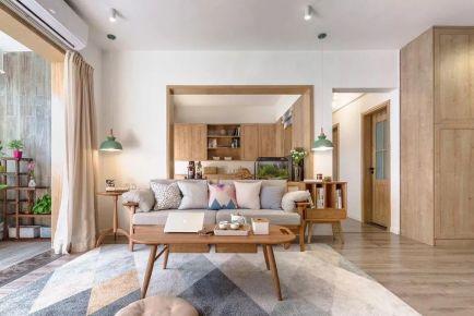 蘇州日式風格三居裝修,溫暖而治愈的氣質美居!