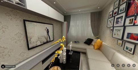 北京简欧现代小两居装修,至境至美优雅生活