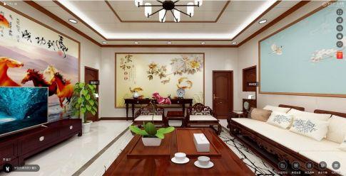 北京中式集成墙板装修四居案例