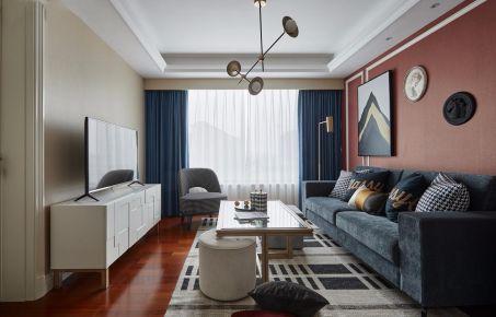 重庆【维享家装饰】100平三居室现代美式装修效果图