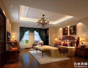福州美式风格三居装修,精致有品位的小资情调