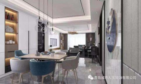 青岛银都景园190平现代风格四居装饰图
