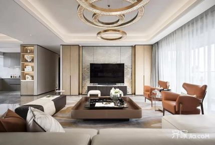 广州现代四居装修,定义非凡的设计格调