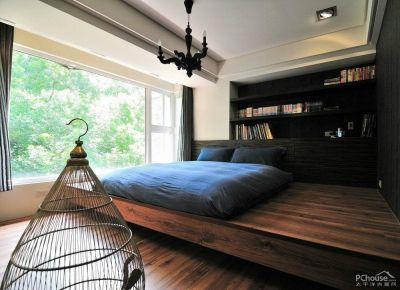 润玉园中式三居室装修效果图