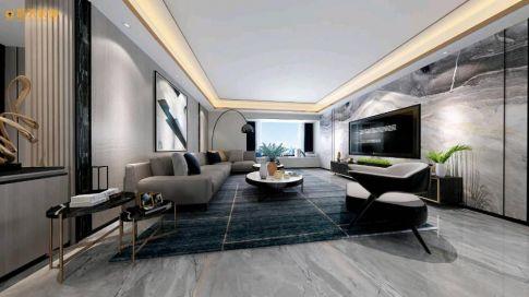 现代风格四居设计,一个温馨个性的现代家居空间