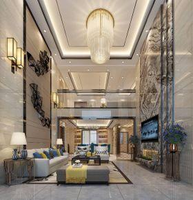 深圳新中式别墅装修,轻奢质感,完美演绎东方美学!