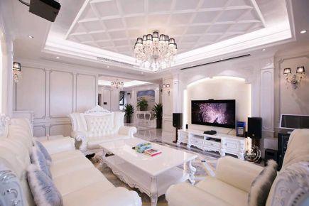深圳欧式装修,合理的点、线、面表现形式让生活空间呈现完美品质。