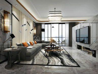 现代轻奢风格四居室设计