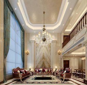 深圳自建简欧风格别墅装修,时尚与奢华的结合如此自然!