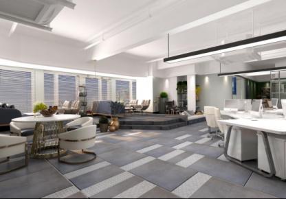 太原大气时尚现代风格办公室装修效果图