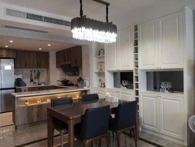 美式風格廚房設計