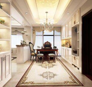 欧式风格四居室设计