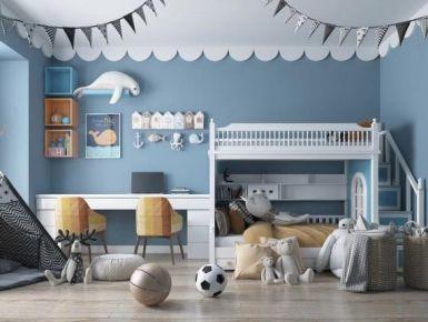 北歐風格兒童房設計