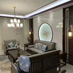太原新中式四居装修效果图,优雅精致超有质感