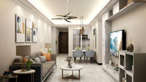 深圳现代三居室风格设计