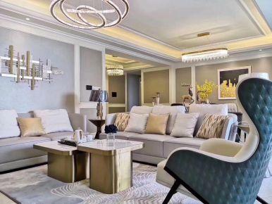 现代风格轻奢客厅