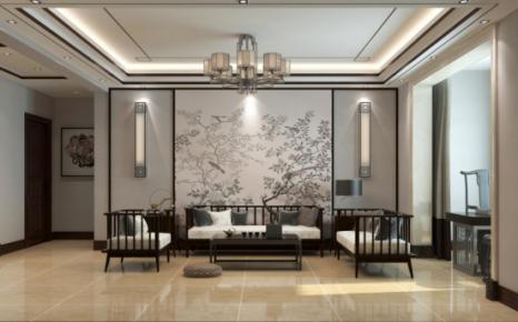 太原新中式风格三居室装修,感受新中式的优雅