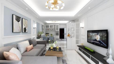 广州现代简约风格装修,轻奢大气又整洁利落!