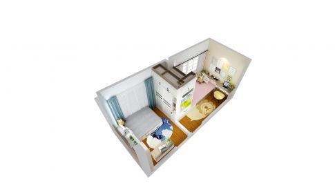广州创意混搭风格三居装修,简洁而有温度的家!