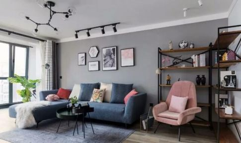 广州现代风小户型装修,设计简洁的生活空间,不平凡的生活态度!