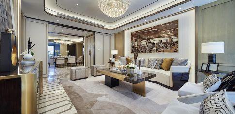重庆现代风四居装修,展现极简线条下的摩登风情