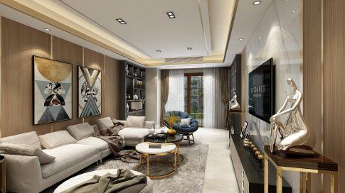重庆现代轻奢风格装修设计,享受精致优雅慢生活!