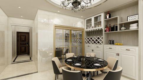 惠州东奥苑现代简约四居室装修效果图