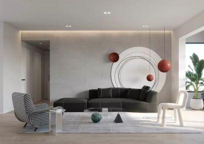泉州三室现代简约风格装修,温柔无争岁月静好!